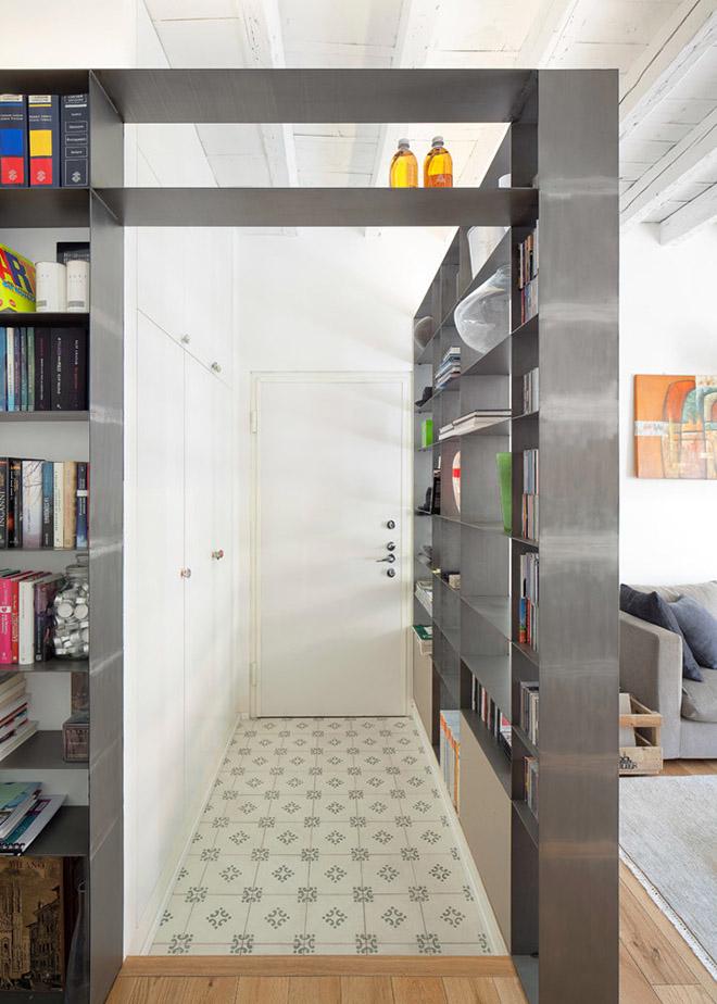 светъл семеен апартамент в Милано_6