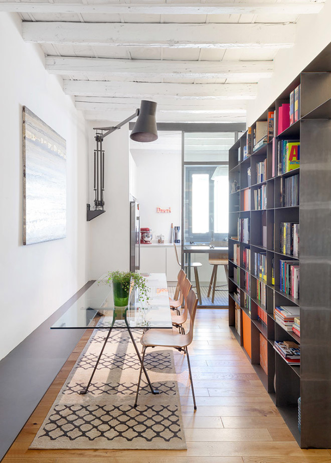 светъл семеен апартамент в Милано_7