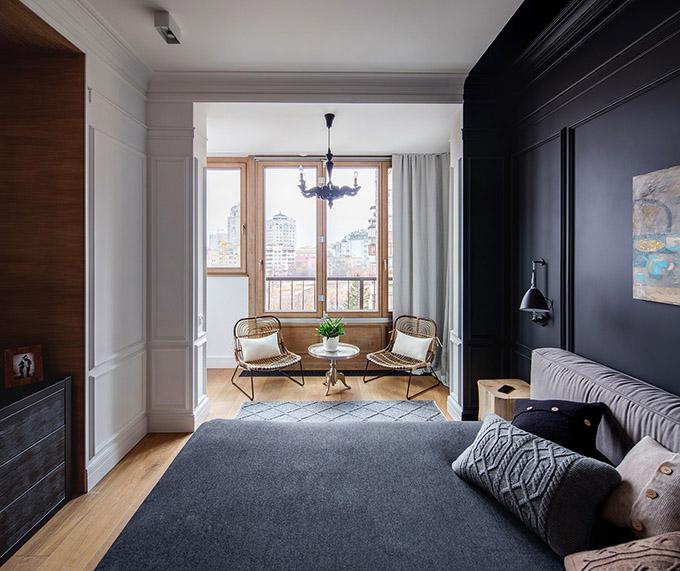 цветен класически интериор на апартамент_11