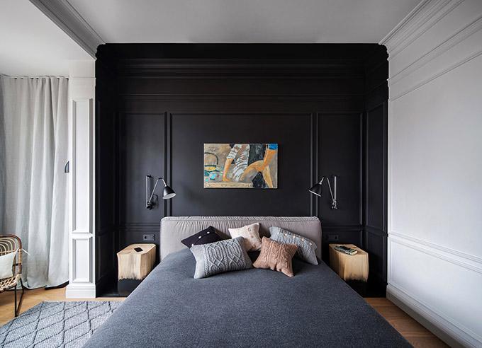 цветен класически интериор на апартамент_13