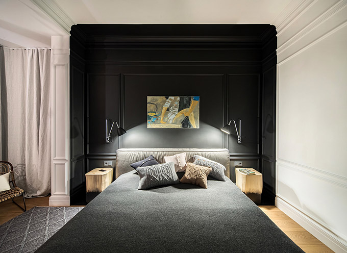цветен класически интериор на апартамент_14