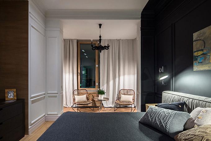 цветен класически интериор на апартамент_16