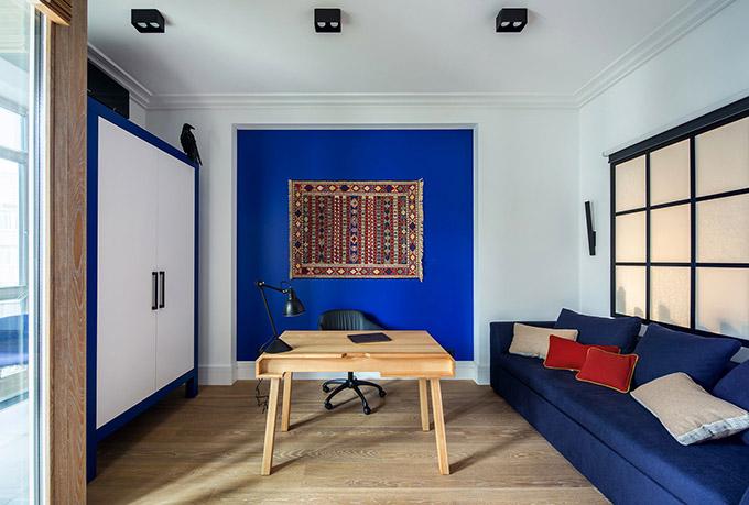 цветен класически интериор на апартамент_18