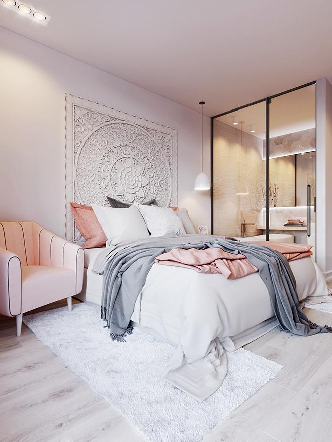 апартамент в розово и бяло_13