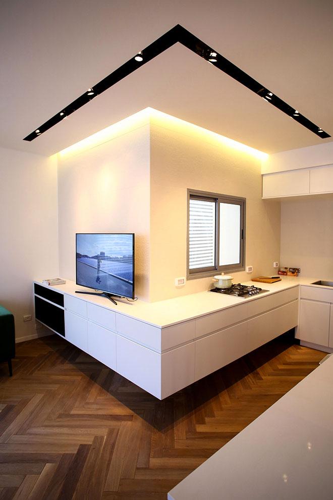 гардероби вместо прегради стени в 90 кв. м дом_16