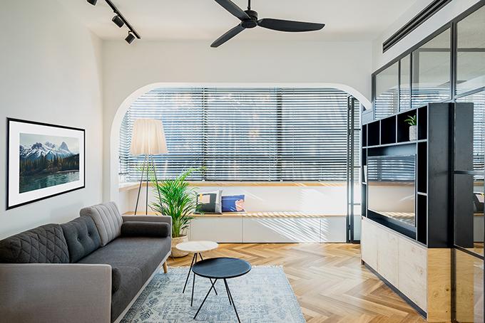 малък апартамент за живеене и работа 53 кв. м_2