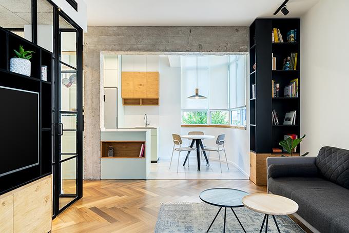 малък апартамент за живеене и работа 53 кв. м_3