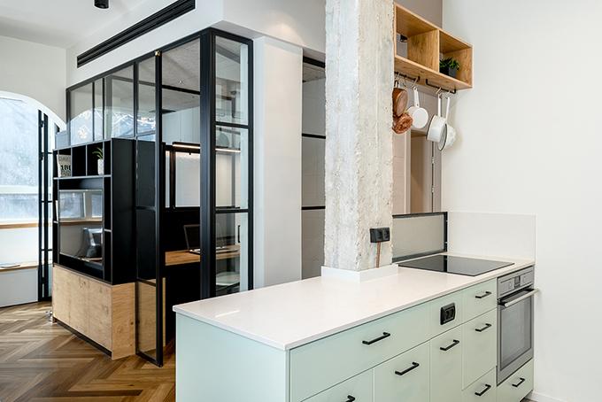 малък апартамент за живеене и работа 53 кв. м_5