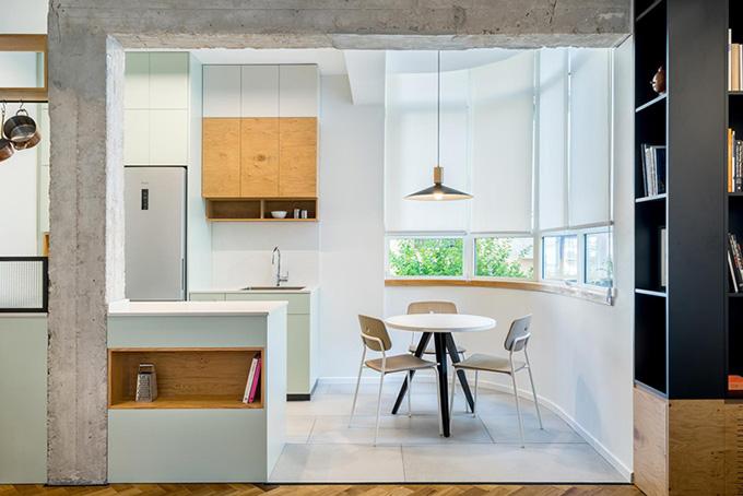 малък апартамент за живеене и работа 53 кв. м_6