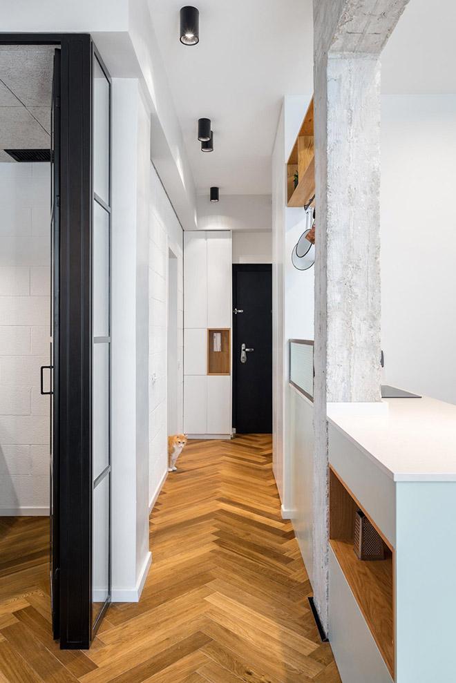 малък апартамент за живеене и работа 53 кв. м_8