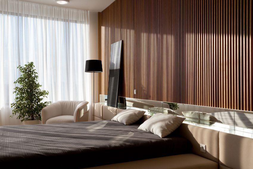 минималистичен апартамент силни контрасти зелено_12