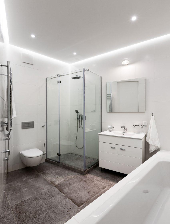 минималистичен апартамент силни контрасти зелено_14