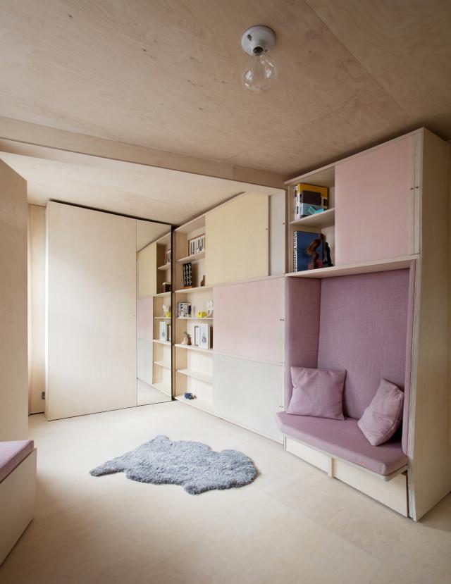 13 кв. м мини апартамент обзавеждане 1