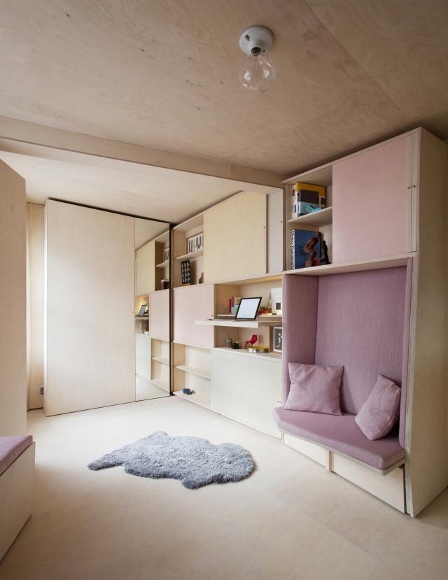 13 кв. м мини апартамент обзавеждане 3