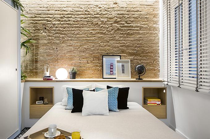 40 кв. м малък цветен апартамент в Барселона_9