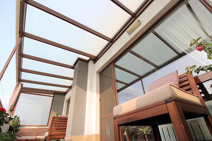 Закрита тераса прозрачен таван_2