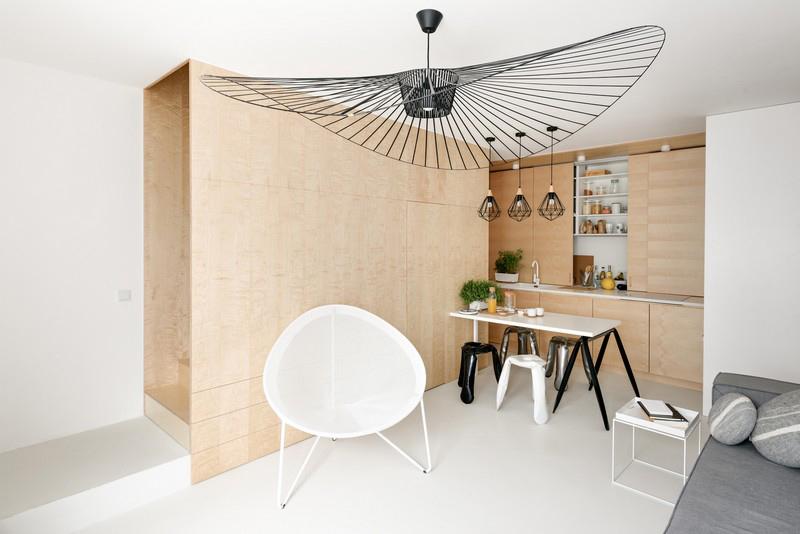 дуплекс апартамент с изчистен дизайн_1