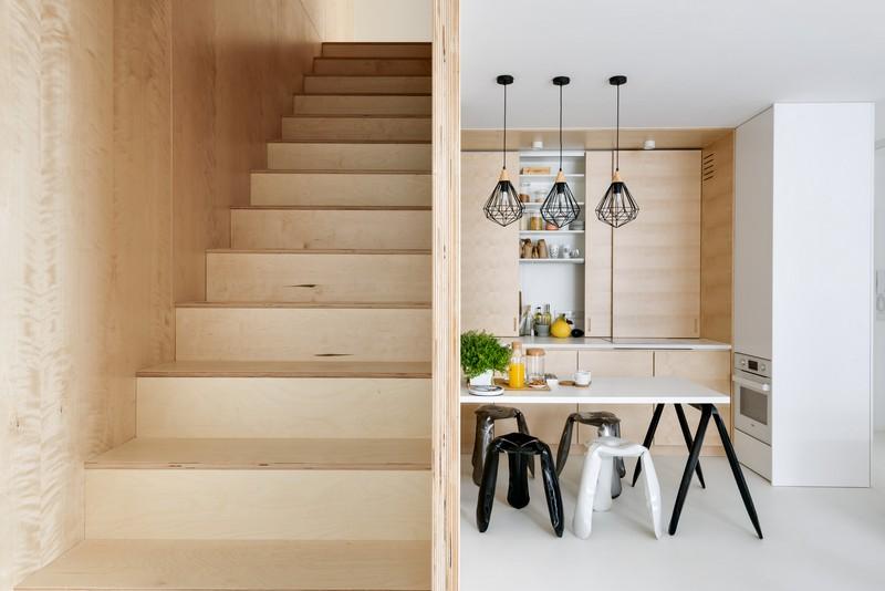 дуплекс апартамент с изчистен дизайн_3