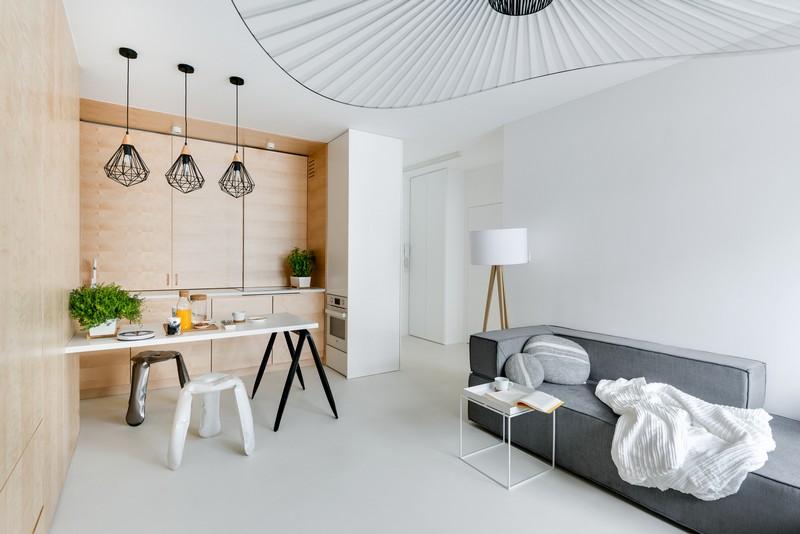 дуплекс апартамент с изчистен дизайн_6