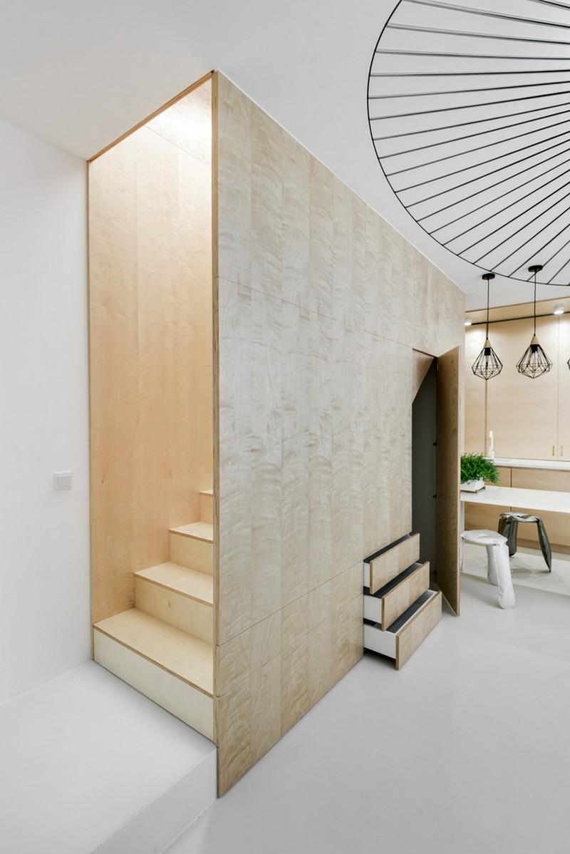дуплекс апартамент с изчистен дизайн_8
