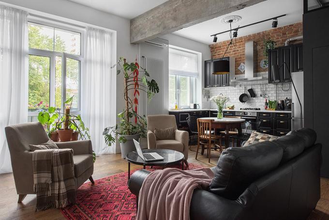 ретро модерен апартамент 19