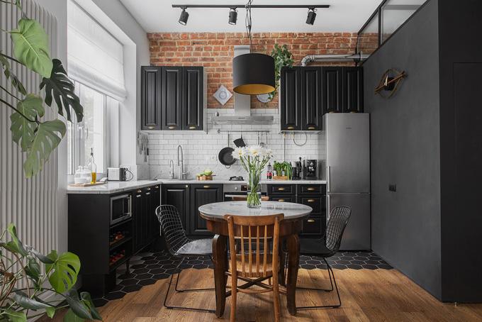 ретро модерен апартамент 7