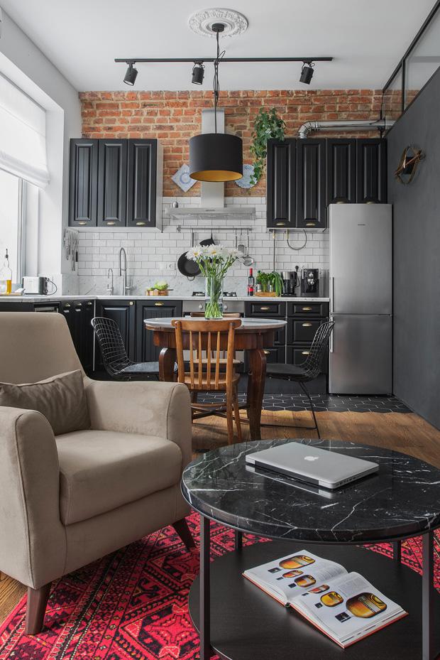 ретро модерен апартамент 8