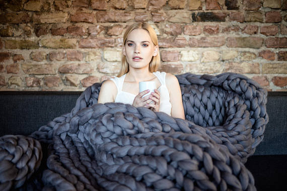 гигантски одеяло вълна