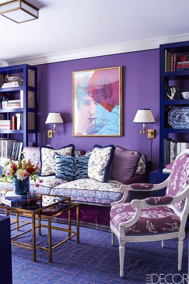 ултра виолетово цвят на годината интериор
