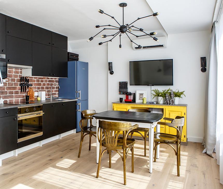 обзавеждане на малко жилище 35 кв 1