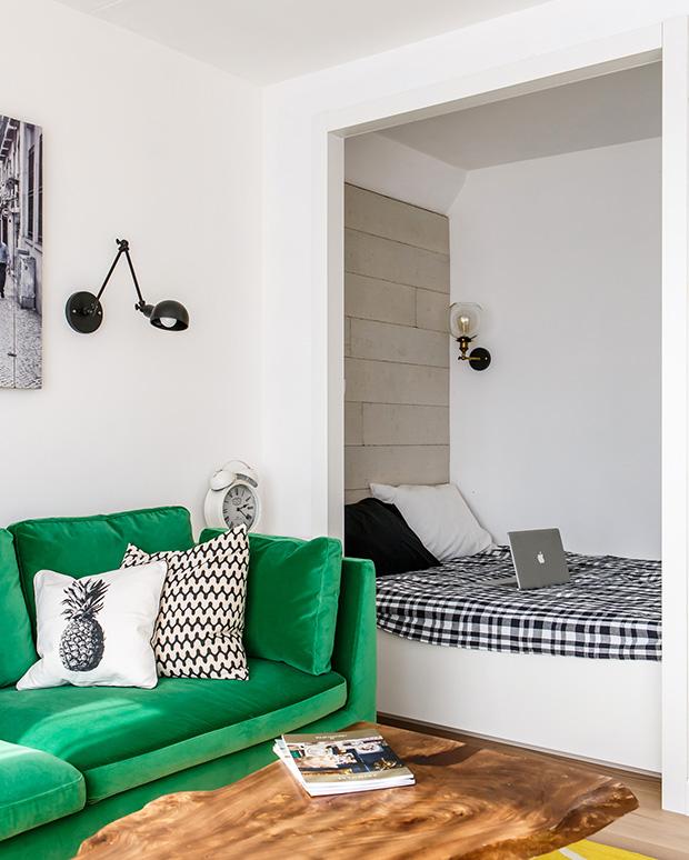 обзавеждане на малко жилище 35 кв 4