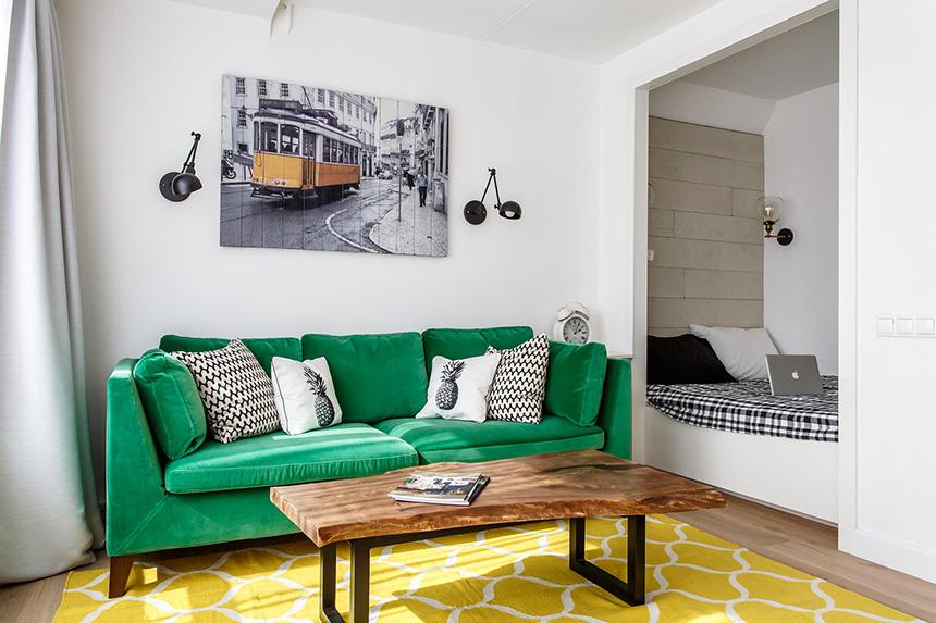 обзавеждане на малко жилище 35 кв 6