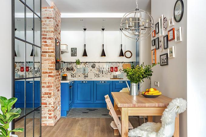 симпатичен дизайн на малък апартамент_1