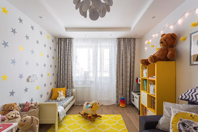 симпатичен дизайн на малък апартамент_22