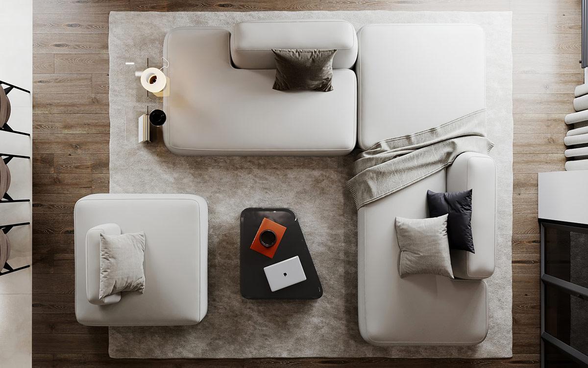 светла мека мебел