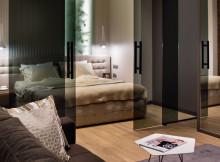 стъклени врати спалня